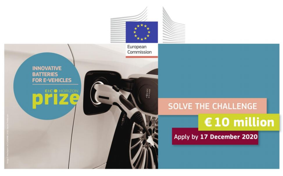 EIC prize BatteriesForEvehicles